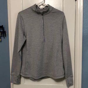 Gray Lucy Activewear sweatshirt